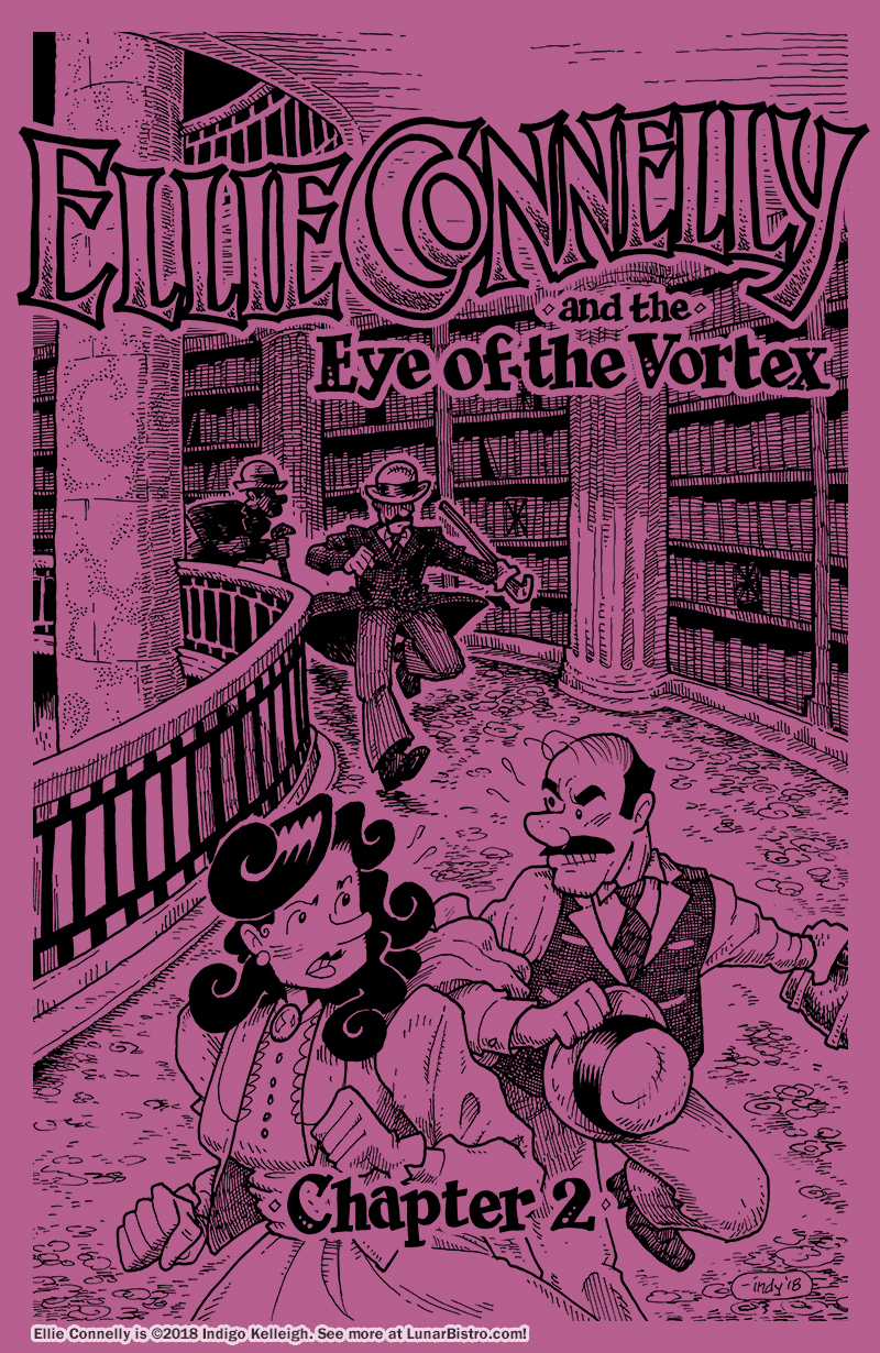 Ellie Connelly and the Eye of the Vortex, Chapter 2