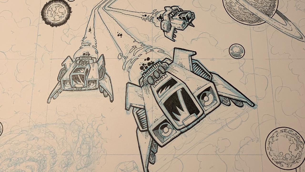 StarSpeed Box Art Progress