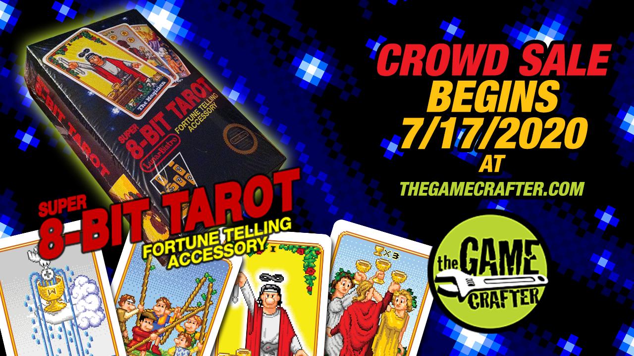 8-Bit Tarot Crowd Sale