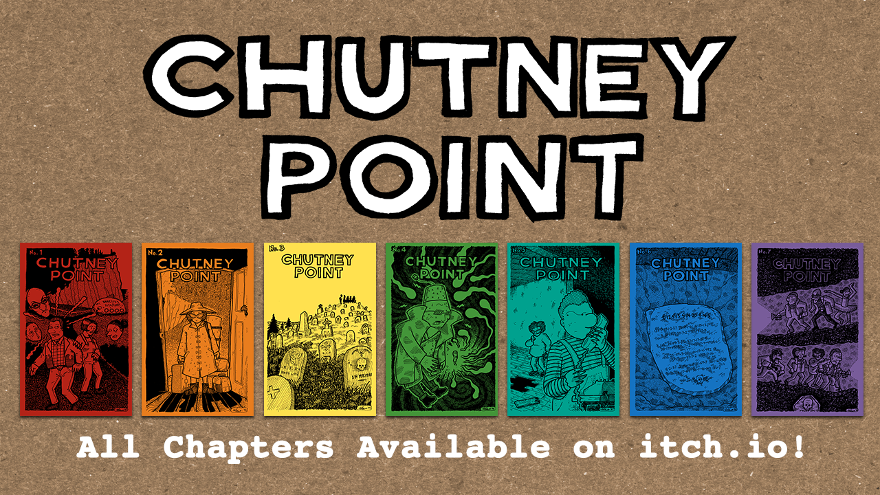 Chutney Point pdfs on Itch.io