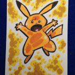 Pikachu Sketchcard!